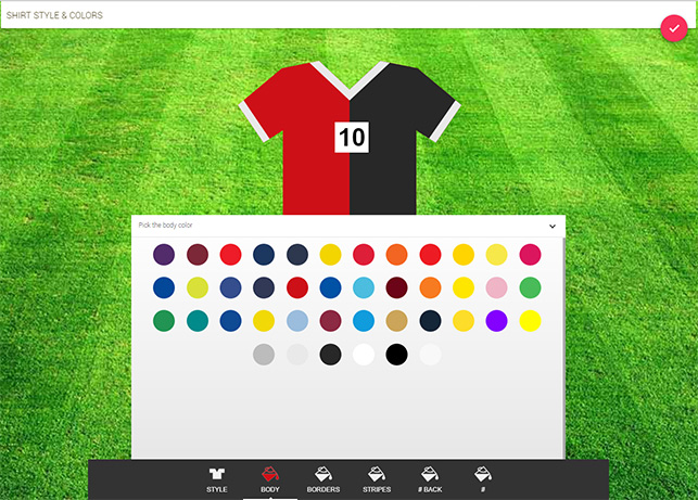 homecrowd football formation kit style editor